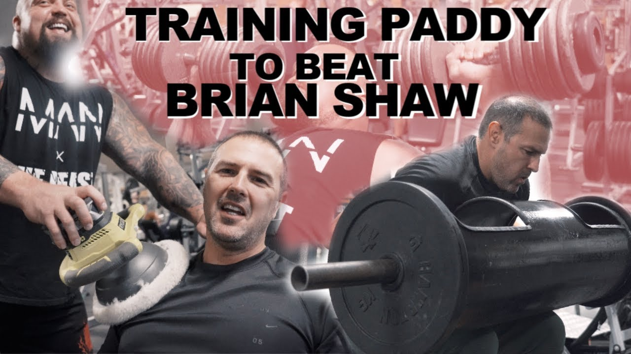 Shoulders With Paddy Mcguinness Log Press
