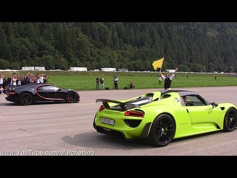 supercars-vs-hypecars:-chiron-vs-regera-vs-laferrari-vs-918-&-more!