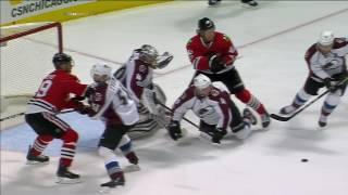 Gotta See It: Enthusiastic call as Blackhawks score 3 goals in 34 seconds