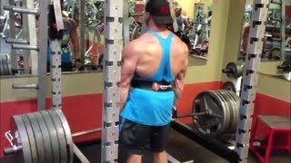7 Plate Rack Deadlifts, Back Training With One Big Dude And Axis Labs Smash!