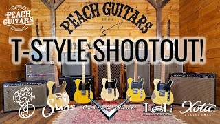 T-Style Shootout: How do 4 boutique alternatives stack up against a Fender CS '51 Nocaster?
