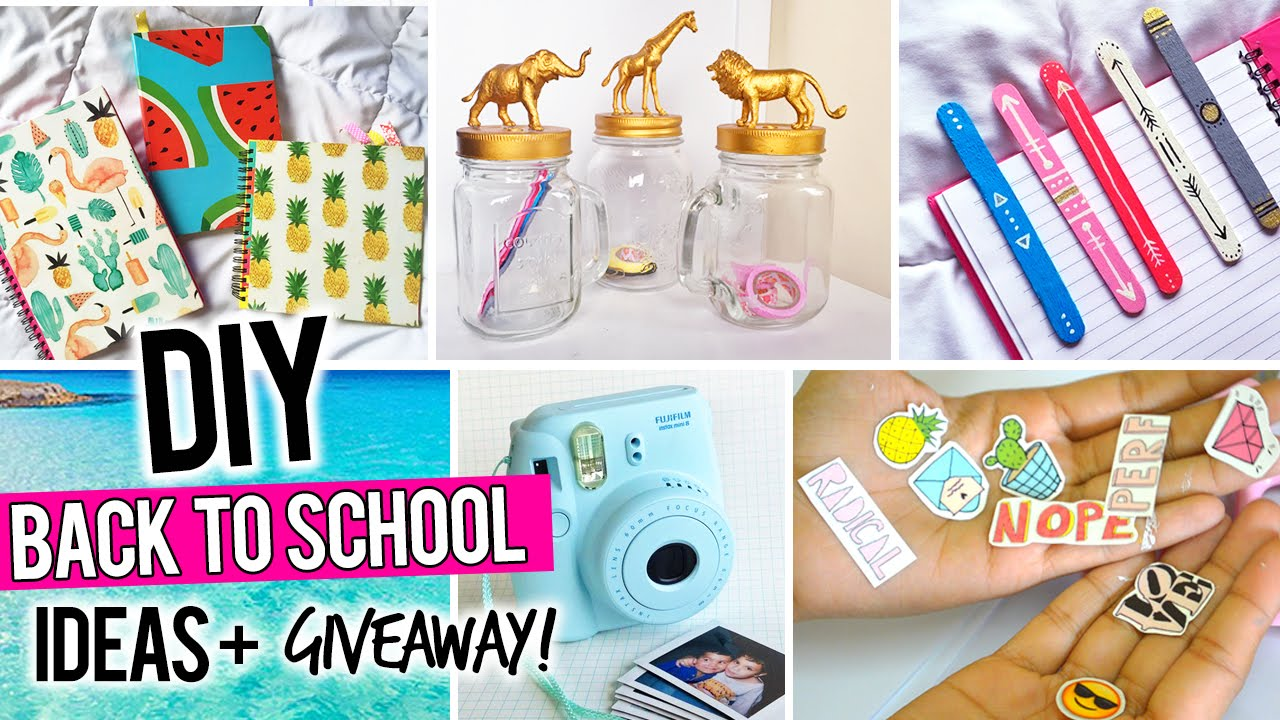We've gathered the BEST Back to School DIY projects and ideas for Teens and Tweens! From set yourself apart locker decorations to show off your personal style – to personalizing and customizing school supplies – to adding a chic one of a kind style to your .