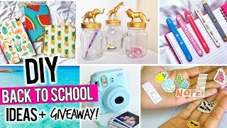 DIY BACK TO SCHOOL IDEAS + INSTAX MINI CAMERA GIVEAWAY!!! #DebWaniSsa