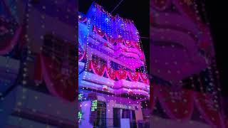 Awesome house decorations in special wedding