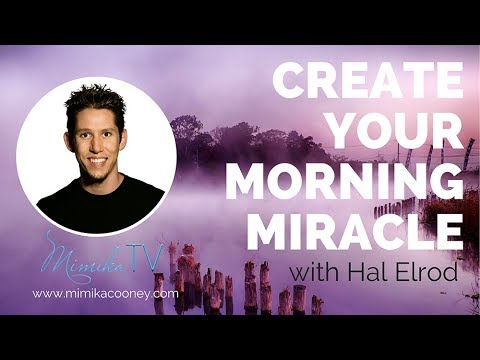 💥Hal Elrod create your own Miracle Morning💥