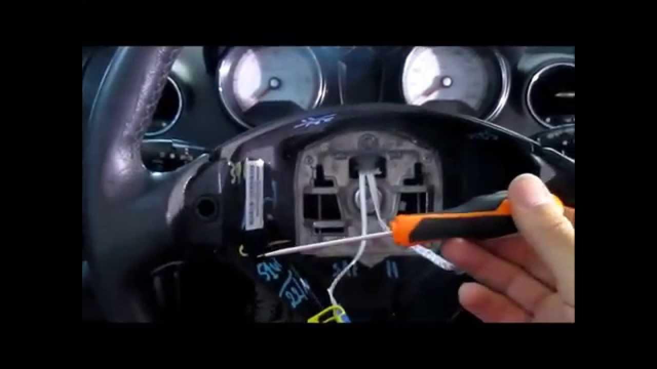 Smontaggio Airbag Peugeot 308