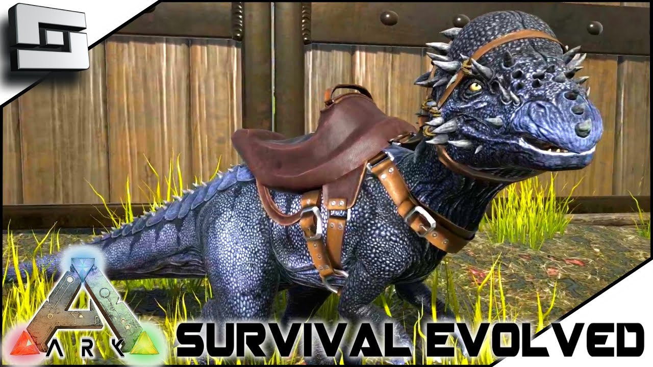Ark Survival Evolved Taming A Pachycephalosaurus S2e6