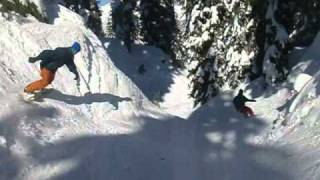 Down the Bob-Sled Chute! Thumbnail