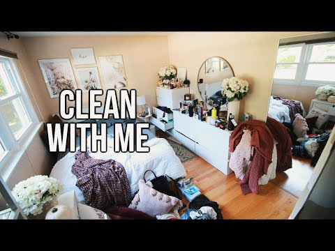 Clean With Me   Clean Room Transformation 2019