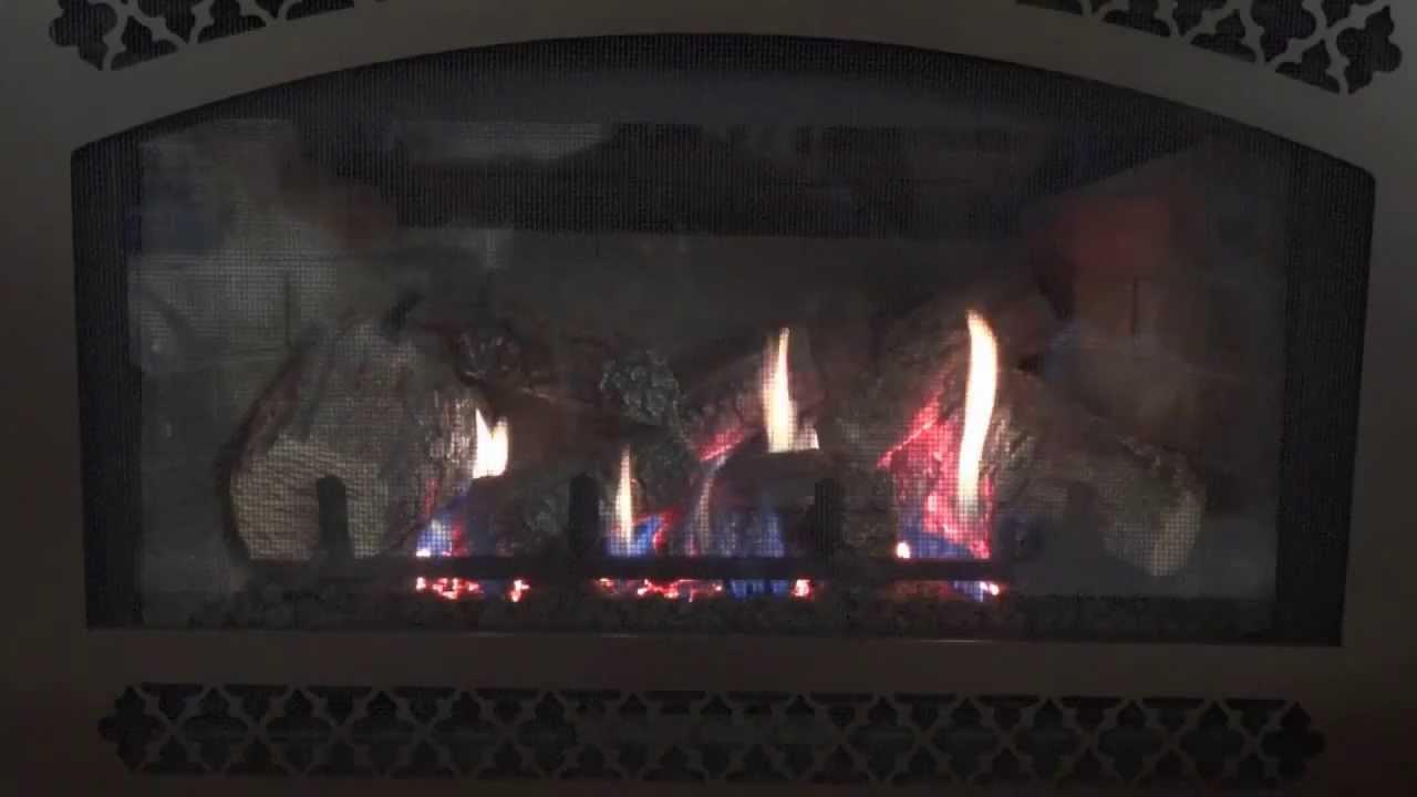 heat and glo supreme i30 gas insert youtube