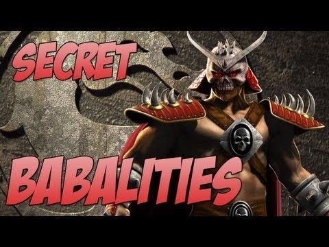 mk Kintaro Babality Secret Babalities Kintaro