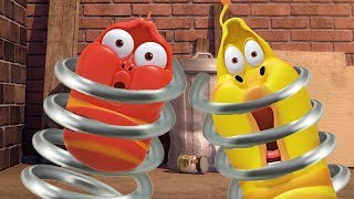 LARVA - SPRING INTO ACTION | Cartoons For Children | LARVA Official