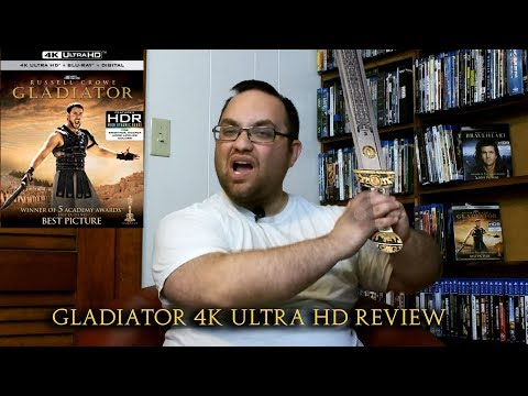 Gladiator 4K Ultra HD Review/Will We Be Entertained?