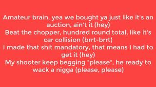 21 Savage, Offset & Metro Boomin - Ric Flair Drip Lyric Video