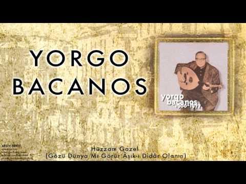 Yorgo Bacanos -   Hüzzam Gazel (Gözü Dünya ... ) [ Arşiv Serisi © 1997 Kalan Müzik ]