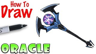 How to Draw the Oracle Axe | Fortnite