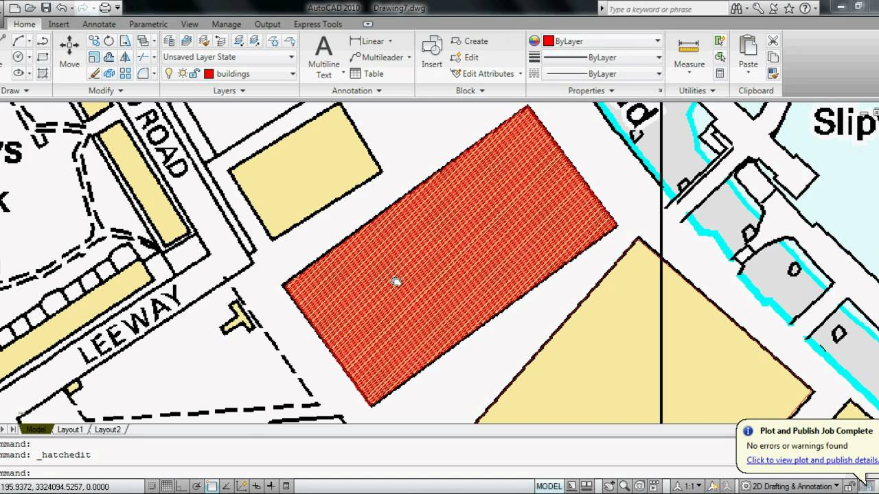 Autocad tutorial -1 mapping - YouTube on