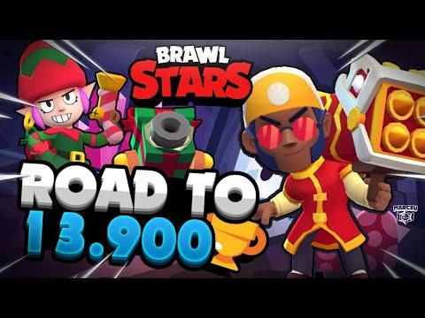 ROAD TO 13.900 COPAS!! BROCK A 700 COPAS!!! *BRAWL STARS* - MaR-CeU - 동영상