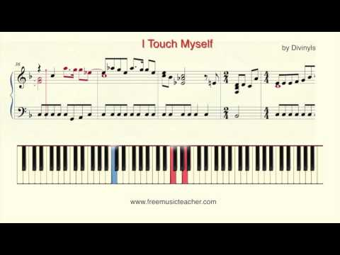 How To Play Piano I Touch Myself By Divinyls Piano Tutorial By