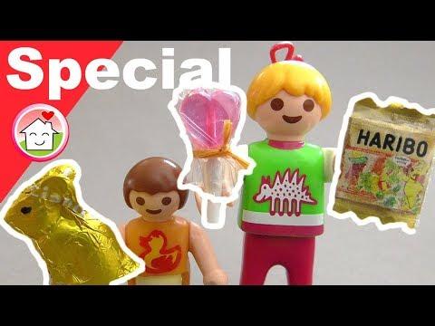 Playmobil deutsch - Pimp my PLAYMOBIL - Süssigkeiten für Ostern - DIY für Kinder - Family Stories
