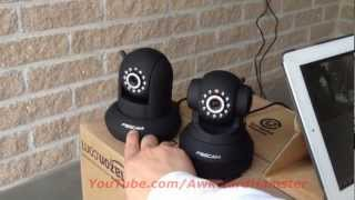Foscam FI8910W and FI8918W Review & Comparison (HD)