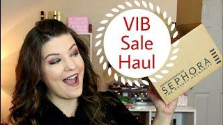 Sephora VIB Sale Haul   wannamakeup