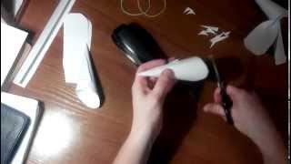 как сделать рожки козленка своими руками