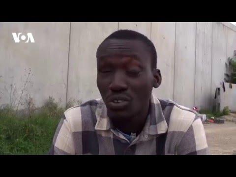 Interview de Sama Tounkara du Mali, Rome, Italie
