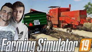 Farming Simulator 19☆Zakup Nowej przyczepy i  Żniwa Pszeniczne:D  !☆ ✔ Sąsiedzkie Zmagania #18