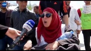الشروق نيوز ترافق الأساتذة المتعاقدين في مسيرة الكرامة