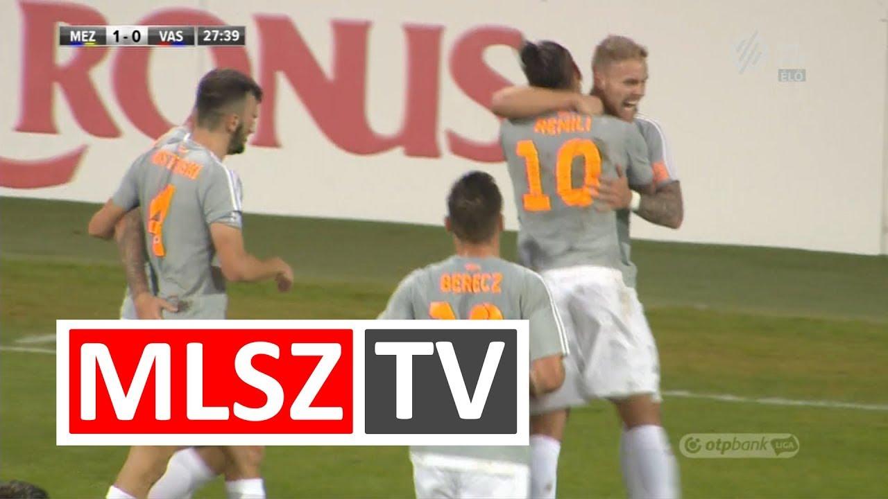 Koszta Márk gólja a Mezőkövesd Zsóry FC – Vasas FC mérkőzésen