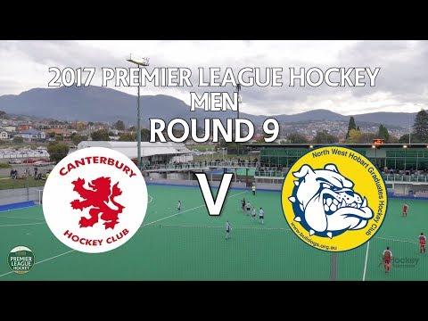 Canterbury v North West Grads | Men Round 9 | Premier League Hockey 2017