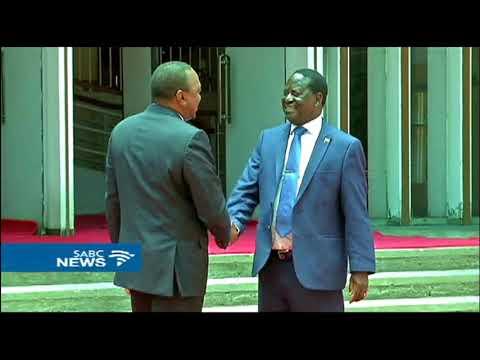 Kenyatta, Odinga agree to work together