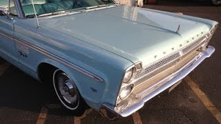 1965 Plymouth Fury 3 Convertible Part1 - Classic Car Addiction