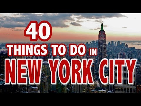 40 BEST THINGS TO DO IN NEW YORK CITY ♥ New York City Travel