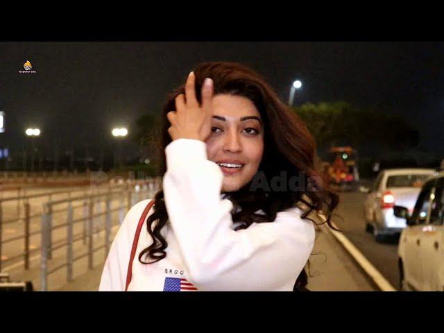 Pranitha Subhash Snapped At Airport Departure