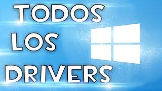 Descargar TODOS los Controladores DRIVERS para PC [WINDOWS]