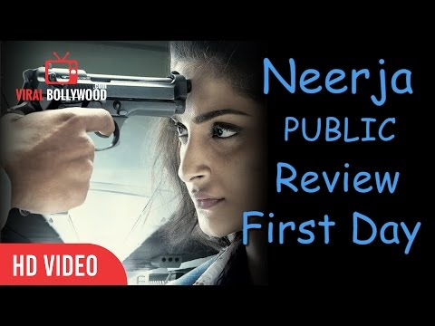 Neerja Movie Public Review | First Day Reactions | Sonam Kapoor | Shabana Azmi | ViralBollywood