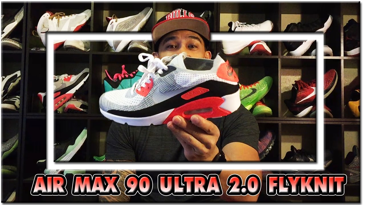 4fb40553c0e Air Max 90 Ultra 2.0 FLYKNIT 2017 (SHOE REVIEW)   AIR MAX DAY!! 1080p60