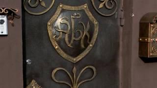 Красивые кованые буквы А Б К из металла ,вензеля ,инициалы ,шрифт ковка художественная