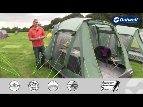 Outwell Birdland 3 Tent - .outdoormegastore.co.uk & Outwell Birdland 3 Tent - www.outdoormegastore.co.uk - YouTube