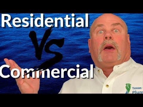 Residential Plumbing vs Commercial Plumbing | Plumbing Career | The Expert Plumber