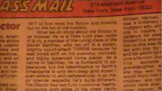 Doctor Who -- His Real Name?