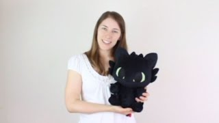 Baby Toothless plushie ~ sewing pattern available!