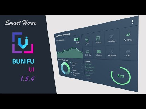 Visual Basic, Bunifu UI 1.5.4- Smart Home GUI