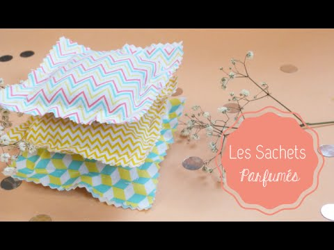 Diy Deco Les Sachets Parfumes Youtube