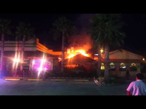 Fire at Los Cucos, Tomball Tx