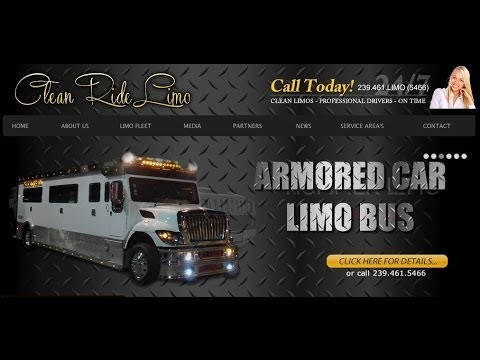 239-461-5466 Naples limo,Limousine Naples,Party bus,Armored limo,Armored limousine,bullet proof limo