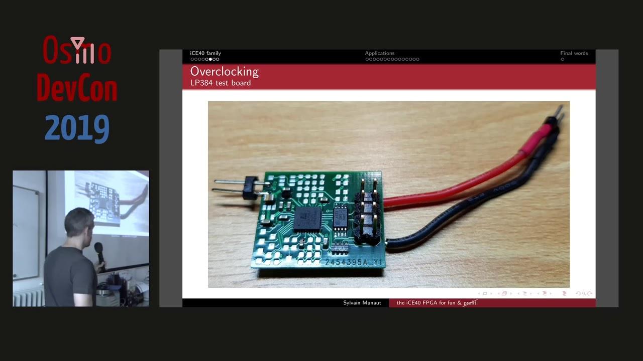 OsmoDevCon 2019 - The iCE40 FPGA