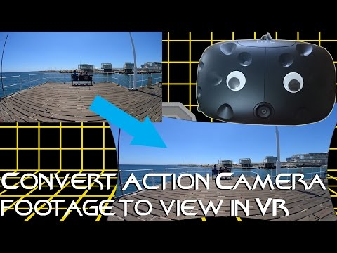 Convert Action Camera Video for 360/VR